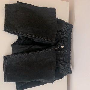 Zara Paperbag Waist Jeans